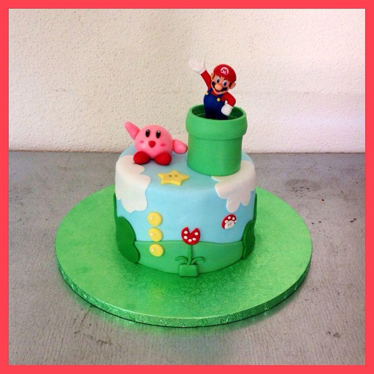 Mario cake Mario bros cake