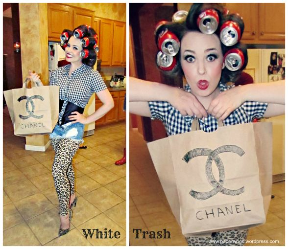 White Trash Costume – Trailer Trash Party Invitations