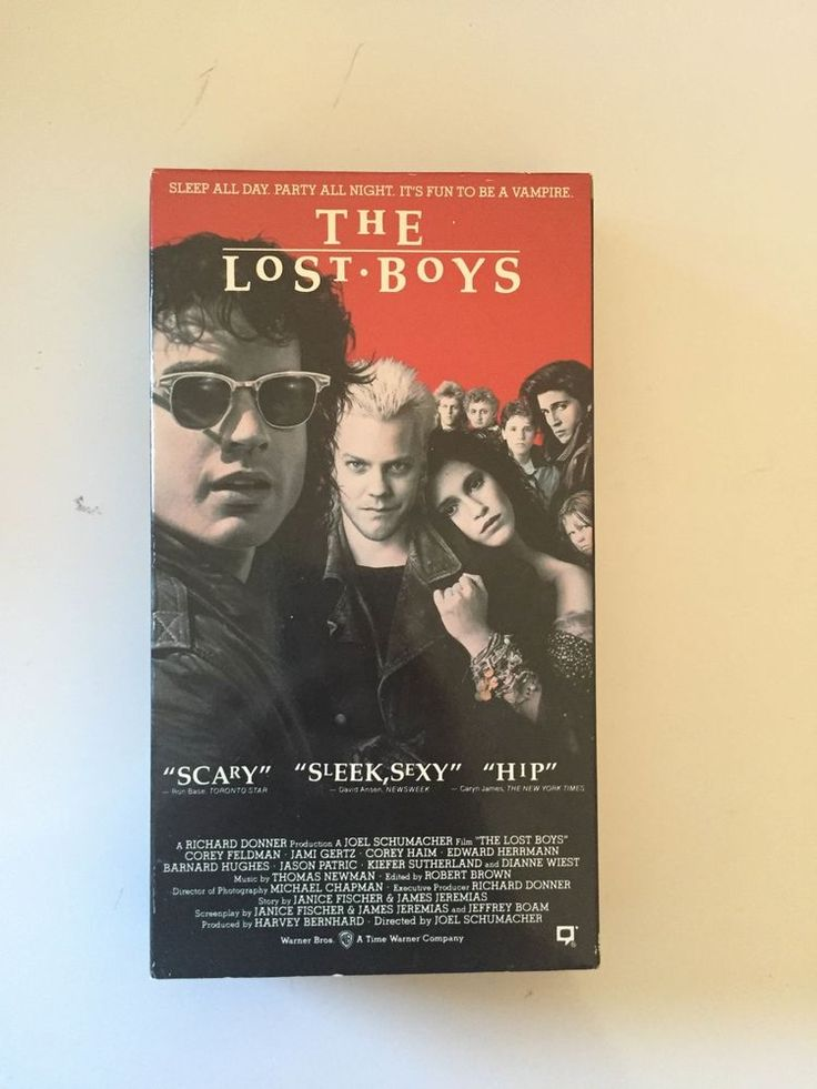 The Lost Boys (VHS) Featuring Corey Haim, Corey Feldman