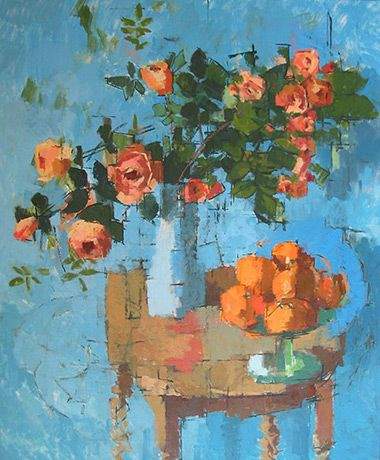 Jill Barthorpe - Roses and Oranges