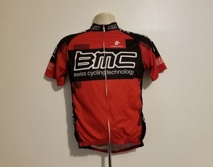 BMC Swiss Cycling Technology Adult Medium Red Jersey