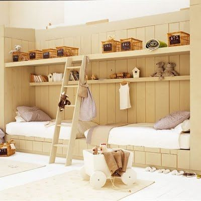 small spaces: Built In, Bunk Beds, Boys Rooms, Twin Beds, Rooms Ideas, Shared Bedrooms, Small Spaces, Twin Rooms, Kids Rooms