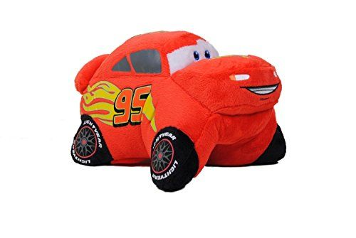 Pillow Pets, Pee Wees, Disney/Pixar Cars 2 Movie, Lightning Mcqueen, 11 Inches, 2015 Amazon Top Rated Pillows #Toy