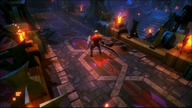 Tiny Dungeon Tileset in Unity3d - Polycount Forum
