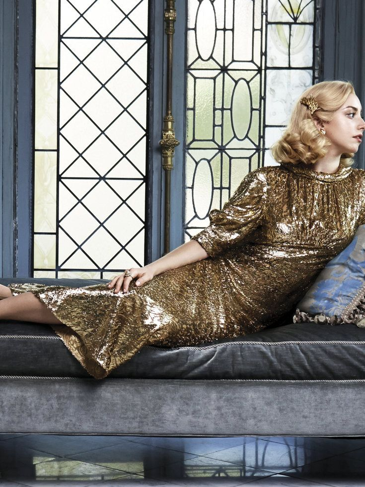Grace Kelly's granddaughter reminds me of Lady Gaga!