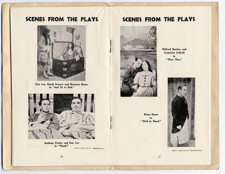 Scene form the Plays In Perth Theatre Scotland