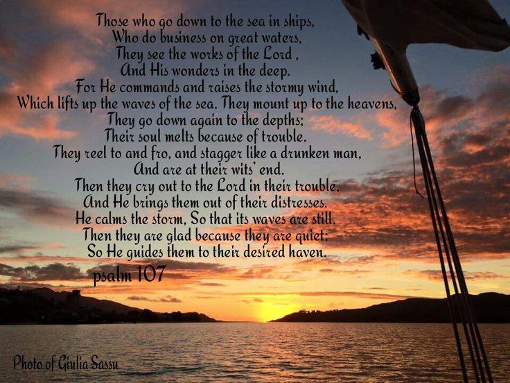 Psalm 107:23/30