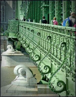 Budapest, Szabadság híd/Liberty Bridge by cristina
