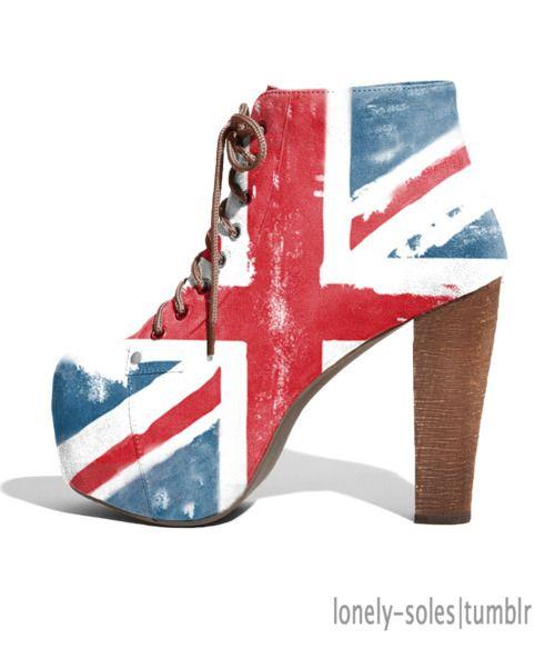 British Jeffrey campbell lita shoes