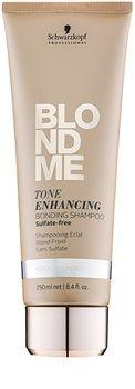 Schwarzkopf Professional Blondme shampoo senza solfati per sfumature biondo freddo