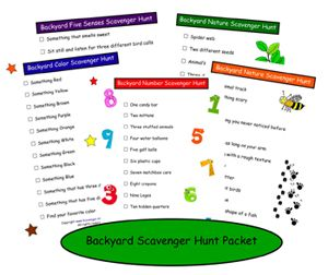 A scavenger hunt for kids is a great way to get them exploring whether inside or out. Enjoy these kids scavenger hunt ideas!