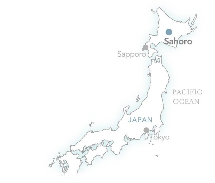 Sahoro on the map