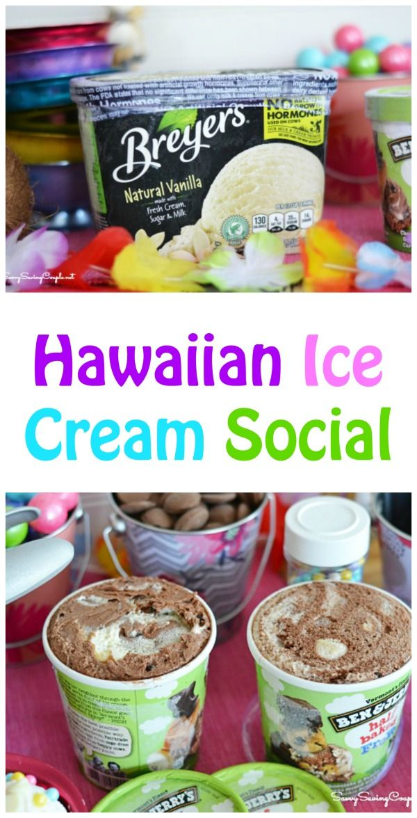 Hawaiian Ice Cream Social & A Chance to Win Free Ice Cream for a Year! #SummerOfJoy #ad