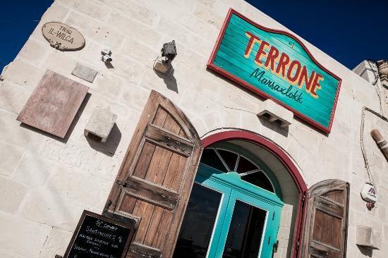 Terrone- great restaurant in Marsaxlokk. Owned by an Australian guy. Delicious food.