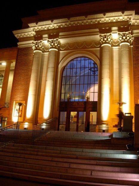 Column uplighting google search hall de entrada for Exterior uplighting