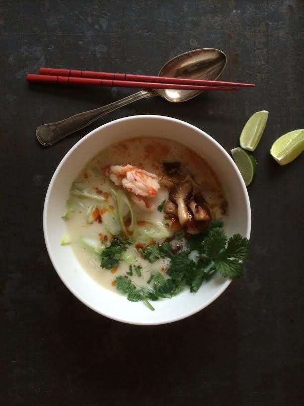 Spicy rejesuppe er en lækker asiatisk opskrift fra Go' appetit, se flere fiskeretter på mad.tv2.dk