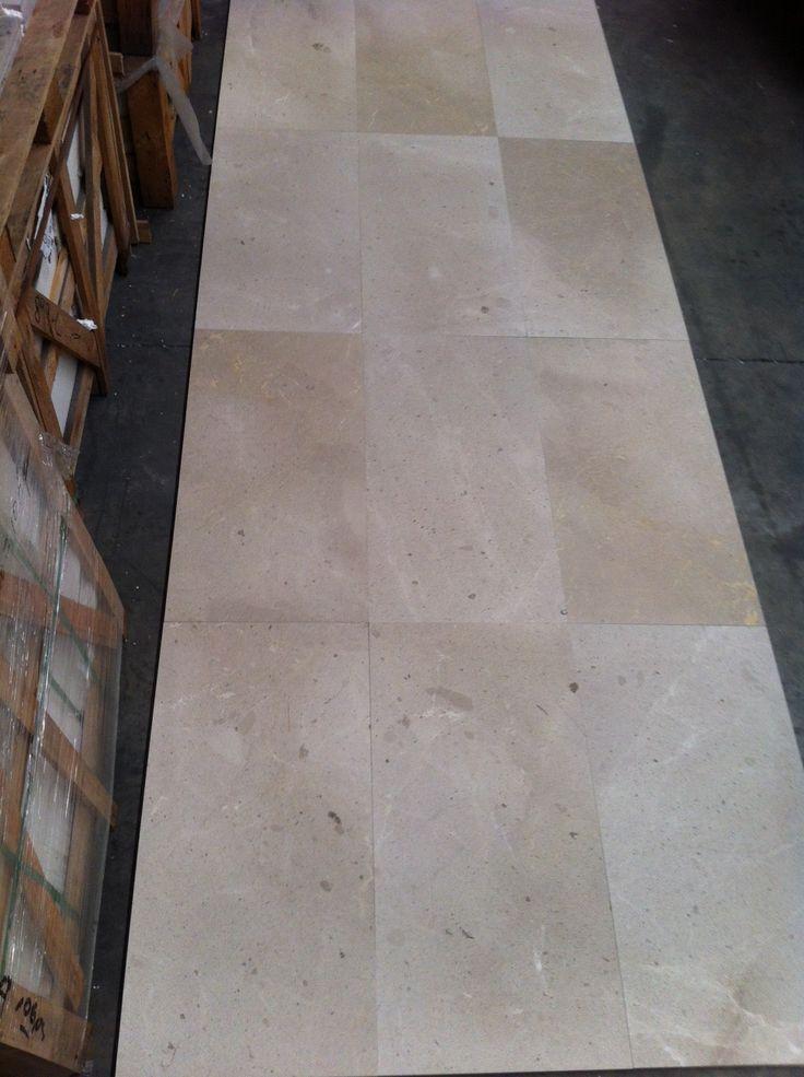honed Bacchio Beige tiles - 800x400x20mm