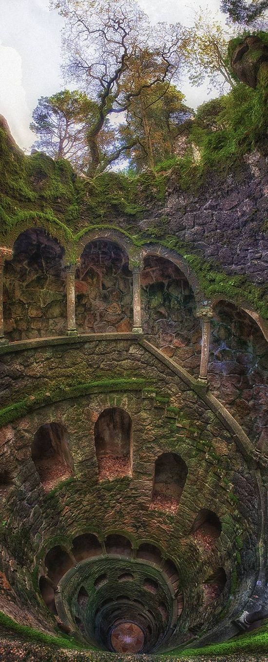 The Iniciatic Well, Entering The Path Of Knowledge – Regaleira Estate, Sintra, Portugal - Click for More...