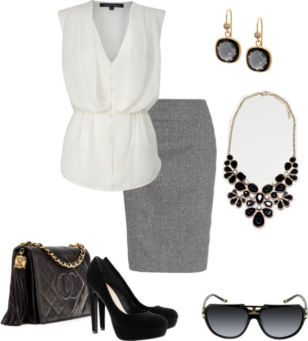 """""""office wear"""" by ivette-val on Polyvore"""