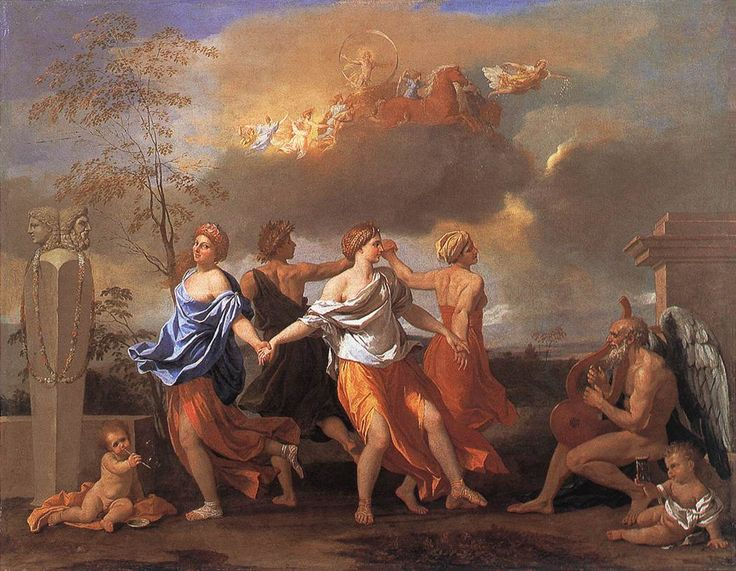 A dance to the music of time - Nicholas Poussin