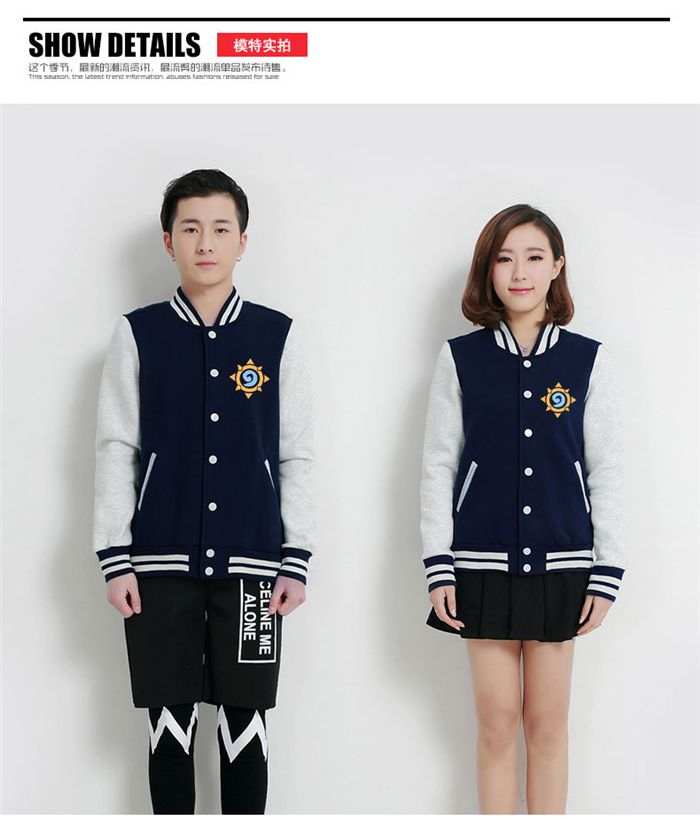 >> Click to Buy << HearthStone Game anime baseball uniform cloth hoodie coat clothing man women lovers free shipping #Affiliate