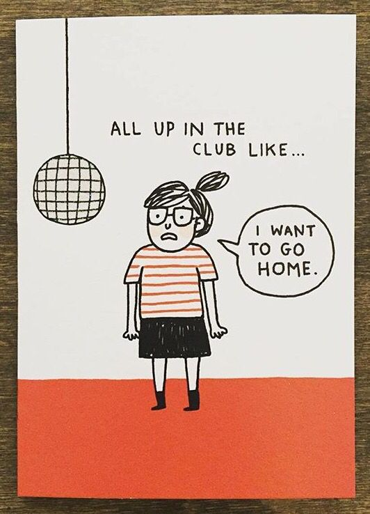 all up in the club like... [gemma correll]