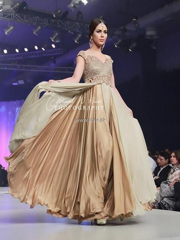 Asifa & Nabeel Bridal Wear Collection at BCW 2013, Pakistani couture *