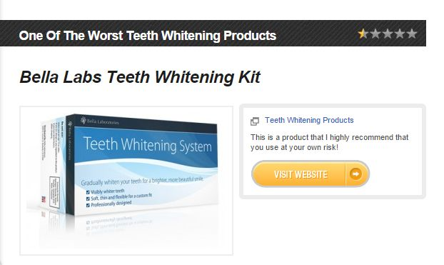 Bella Labs Teeth Whitening Kit