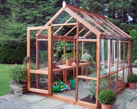 home garden greenhouse plans