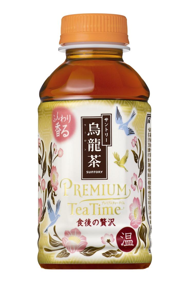 SUNTORY - 烏龍茶 Premium tea time #packaging #design