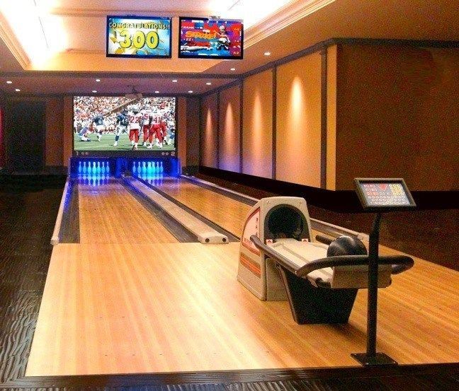 Home Bowling Alley Installations Residential Bowling Alleys Murrey International Home Bowling Alley Home Theater Setup Arcade Room