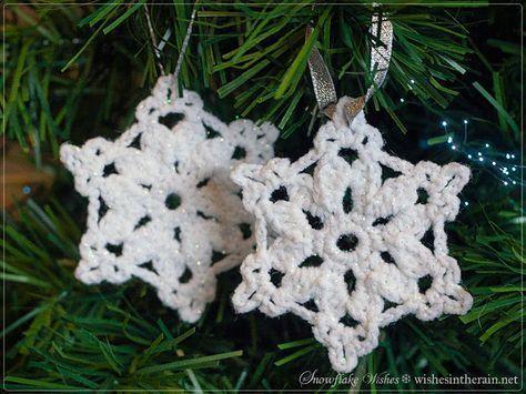 1083 besten Schneeflocken und Sterne häkeln Bilder auf Pinterest ...