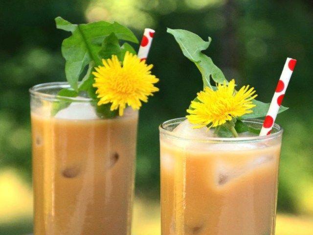 Faire du caféCafé glacé de pissenlit  Purandsimplerecipes.com