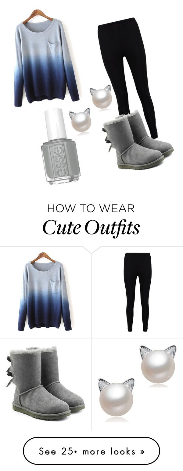 """Cute but stylish winter outfit"" by amsnovel on Polyvore featuring Boohoo and UGG"
