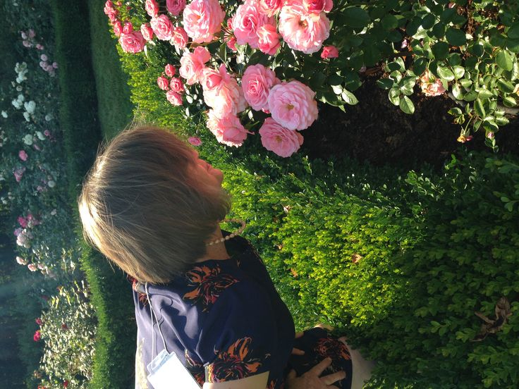 Taking time to smell the roses :-)