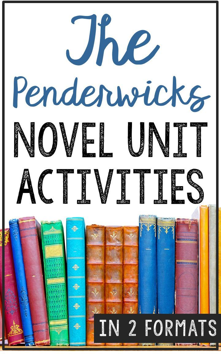 THE PENDERWICKS by Jeanne Birdsall Novel Study Unit