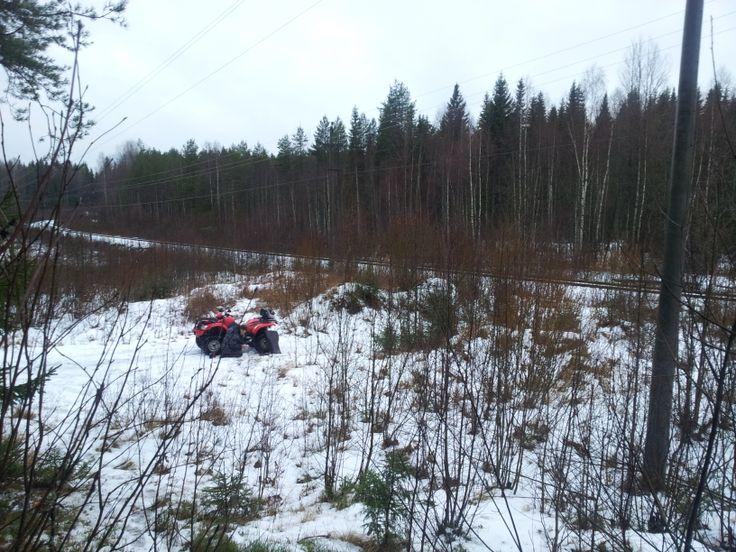 Quads in Karelia