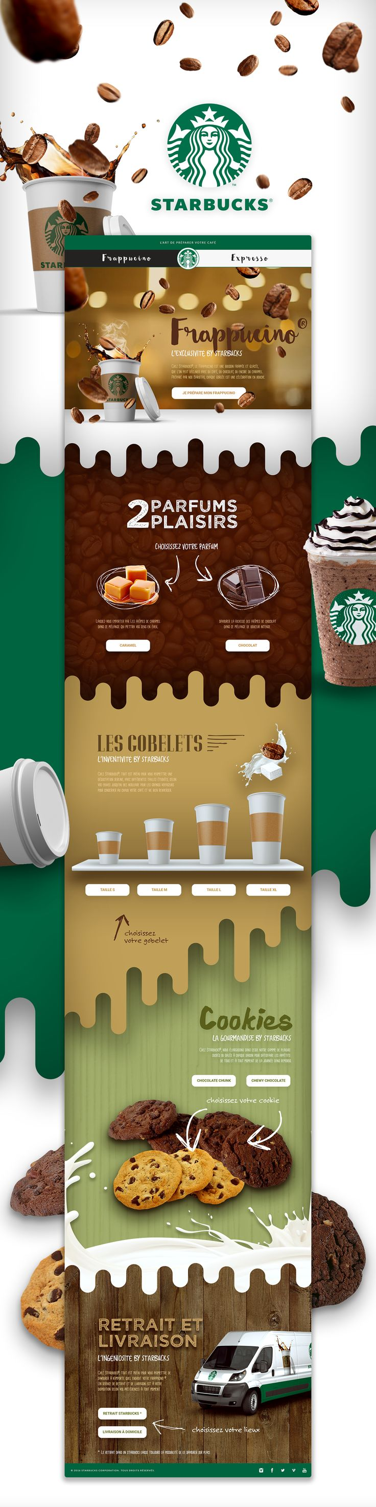 [Prototype] Starbucks® on Behance