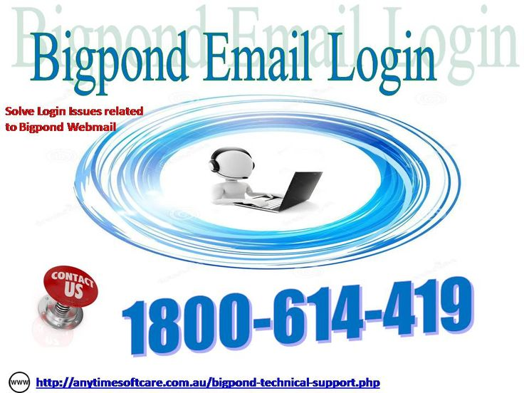 Fix BigPond Email Login Easily | Contact 1800614419 Toll-Free Are you getting trouble during email configuration? Is there any mishap while sending or receiving emails? Do you require some help and support for BigPond Email Login? What are you waiting for? At toll-free no. 1-800-614-419 you will get a perfect solution for issues like BigPond password recovery, hacked Account, spamming problems and much more. The specialized team is available around the clock to cater your requirements. For…