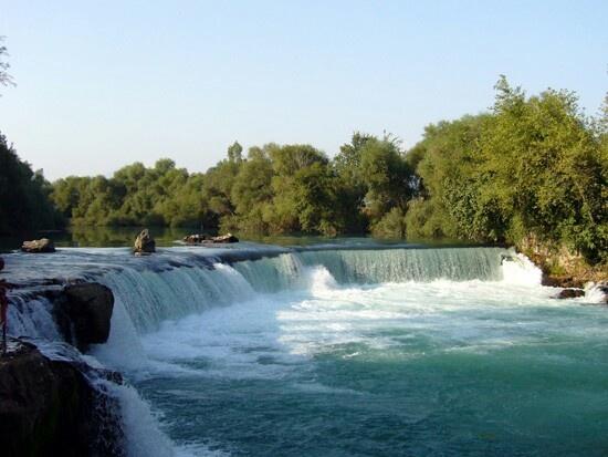Side turkey, Manavgat waterfalls