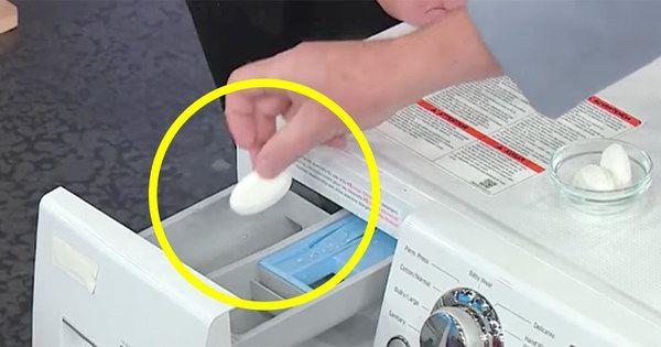 Tiesitkö, että pyykkikoneesi on täynnä bakteereja? Ratkaise ongelma aineella, joka löytyy jo keittiöstäsi