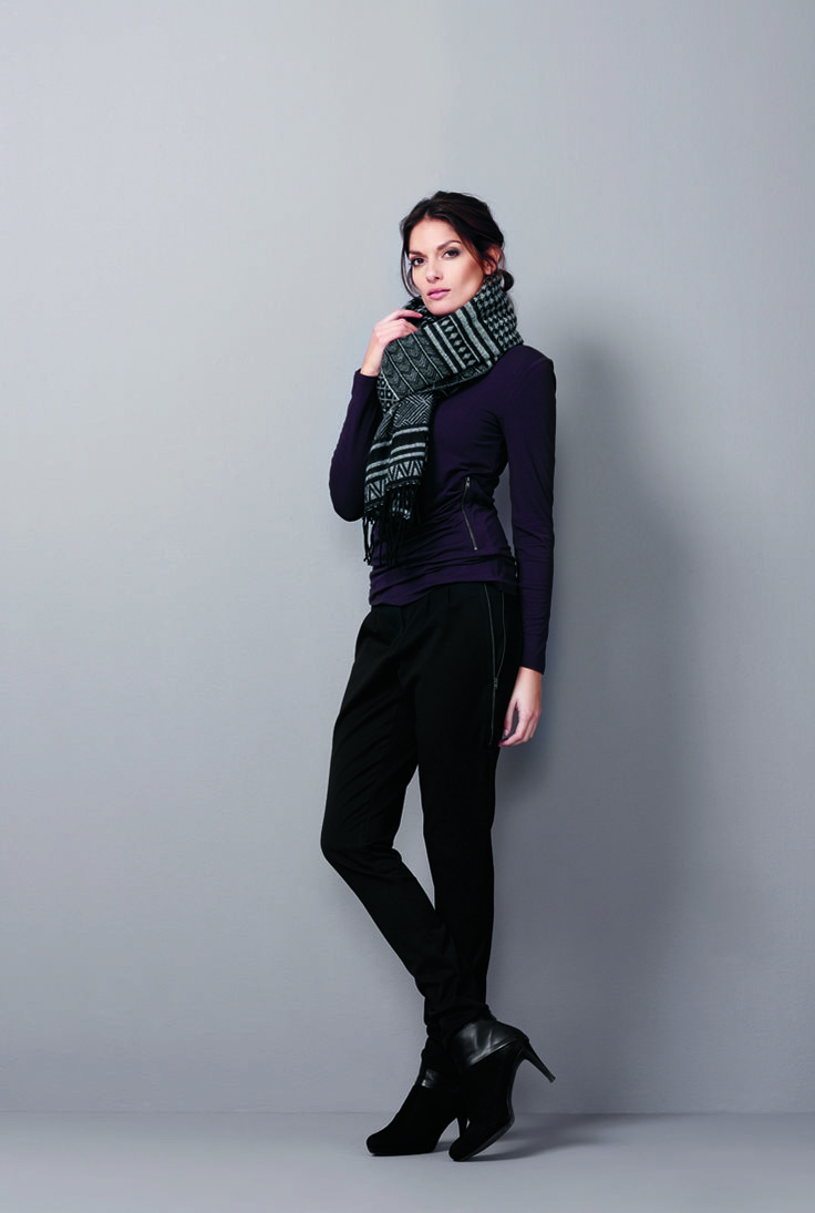 soyaconcept - blouse - scarf - pants