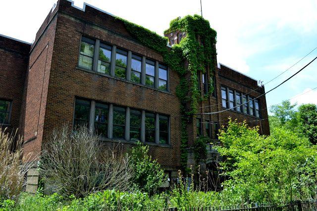 Закинута школа Боггс Ран, Бенвуд, Західна Вірджинія(Boggs Run Public School, Benwood, West Virginia)