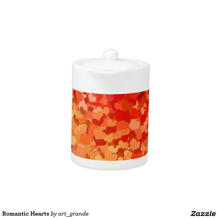 Romantic Hearts Teapot