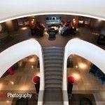 interior of aviator hotel farnborough