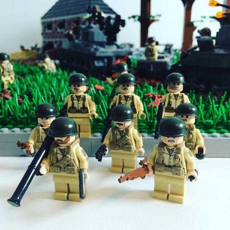 New batch of us infantry legomoc legostagram legos lego us