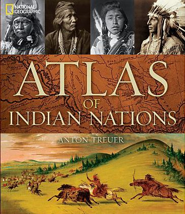 Anton Treuer's 'Atlas of Indian Nations' covers the past and present of 560 diverse tribes