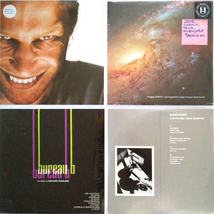 Aphex Twin – Richard D. James Album (M/NM) –  765 грн. Project STS-31 – Spiralgalaxie (Hubble Telescope Series Vol. III) (M/NM)  – 795 грн. Various – Bureau B Kollektion 04C Compiled By Richard Fearless  (M/NM)  – 795 грн. Solvent – Solvently One Listens  (NM/VG+)  – 685 грн. #newindiskultura #diskultura #TrueVinylRecordsStore #kyiv #kiev #киев #київ #kyivshop #vinyl #винил #пластинки    #AphexTwin   #IDM  #ProjectSTS31   #TrueElectro  #Krautrock  #Solvent 