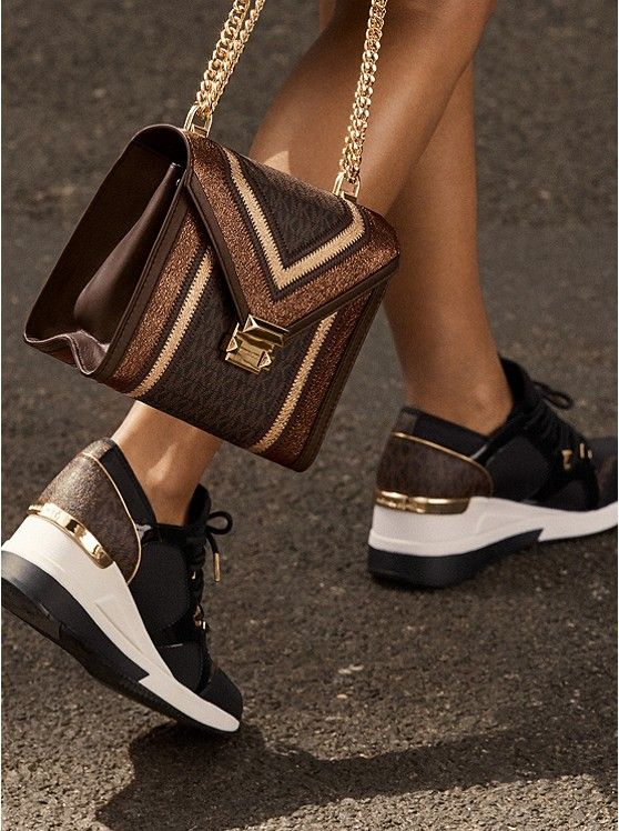 06d13625906a Whitney Large Logo Convertible Shoulder Bag ~ Today's Fashion Item  #MichaelKors #Kors #DesignerHandbags