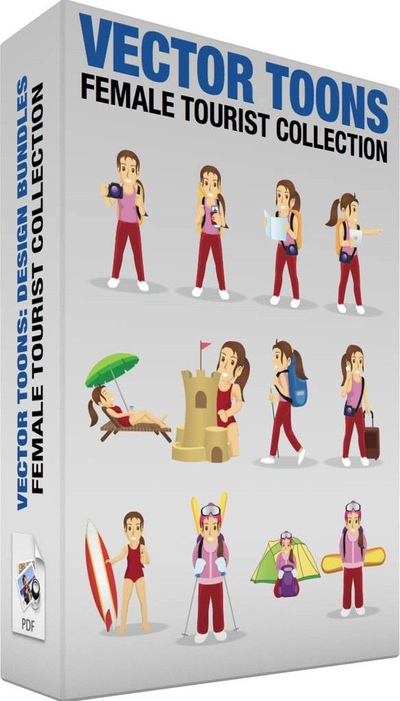 female-tourist-collection